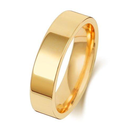 w125ha,18k,14k.9k.750,585,375,gold,guld,weddingband.bands,förlovningsring