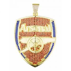 Arsenal,Pendant,silve r,925,silverpendant,topjewellery.jpg,Gunners