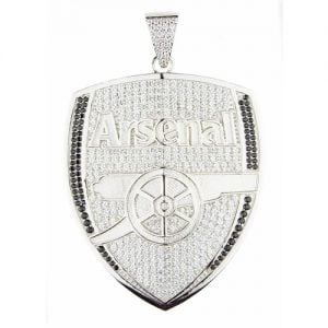 Arsenal,Pendant,silver,925,silverpendant,topjewellery