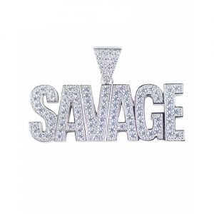 Savage pendant,Savage,pendant,silverpendant,silver,925,topjewellery