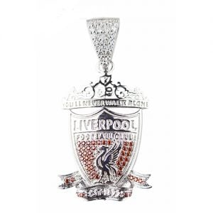 Liverpool Pendant, Top JEwellery,silver,925,gold,football