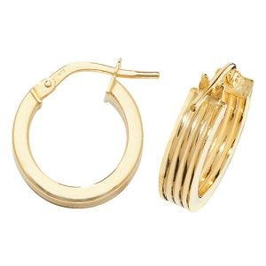 Twisted Yellow Gold Hoop Earrings,Yellow Gold Hoop Earrings 20 mm,30mm ,9ct,18ct,14ct,topjewellery,top,jewellery,topjewelleryukBirmingham,Jewellery Quarter.1