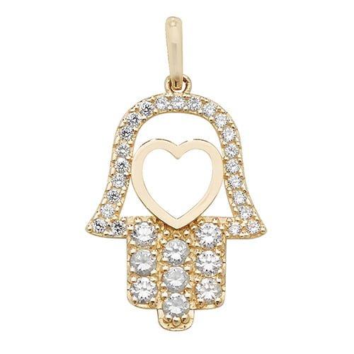 Hamsa Hand charm pendant,hamsa,pendant,charm,hand pendant, pendant,charm,religion,18k,9k,18ct,9ct,375,750,top jewellery,goldonline