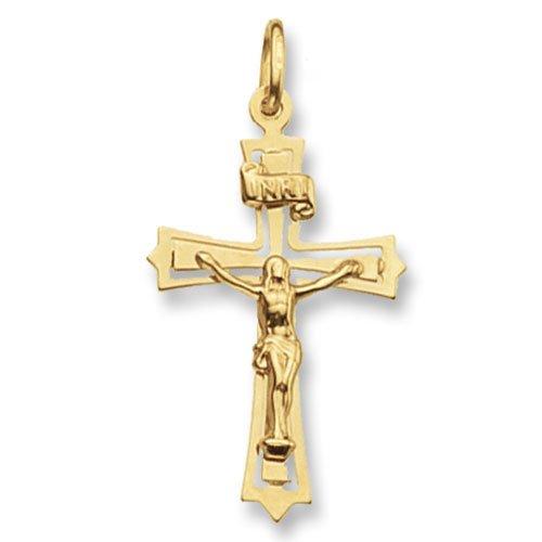 Crucifix,Cross,9k,18k,375m750,gold,guld,Top Jewellery