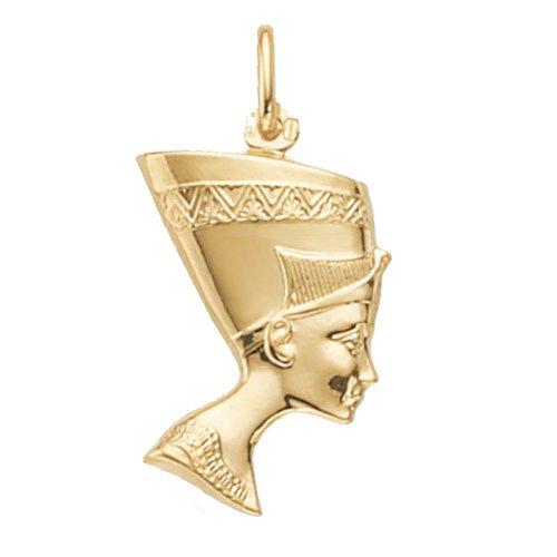 Nefertiti pendant,pendant,nefertiti,18k,9k,18ct,9ct,375,750,top jewellery,goldonline