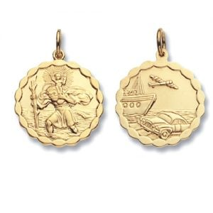 ST.Christopher,Top Jewellery,9k,18k,9ct,18ct,topjwellery,750,375.585