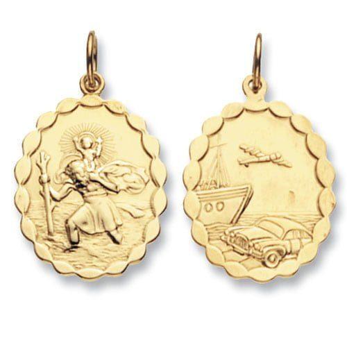 ST.Christopher,Top Jewellery,9k,18k,9ct,18ct,topjwellery,750,375.585
