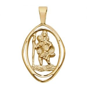 ST.Christopher,Top Jewellery,9k,18k,9ct,18ct,topjwellery