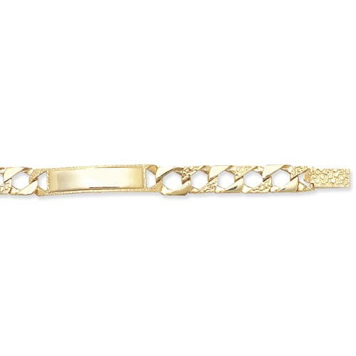 9ct Yellow Gold Babies 5.5 Inches Id Bracelet Jewelry & Watches Fine Bracelets