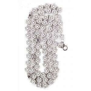 1.Silver CZ chain,925,cubiczirconia stones,zirconiastones,stones,zircoina,chian with diamond stones,chian with stones,topjewelleryuk,topjewellery,top,jewellery,uk,birmingham