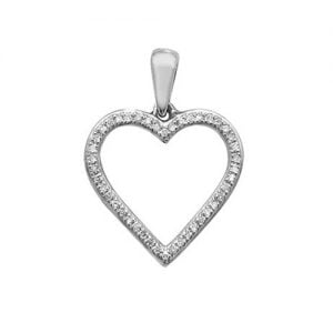 18ct Diamond Heart white gold,whitegold,Diamond Heart,Heart,Gold,Diamond,18ct,9ct,14ct,topjewellery,topjewelleryuk,birmingham.2