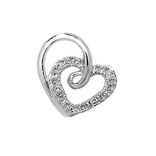 18ct Diamond Heart,Diamond Heart,Heart,Gold,Diamond,18ct,9ct,14ct,topjewellery,topjewelleryuk,birmingham