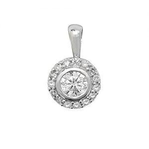 18ct diamond pendant,Diamond Pendant,9ct,14ct,375,750,585,Bezel set pendant,topjewelleryuk,birmingham