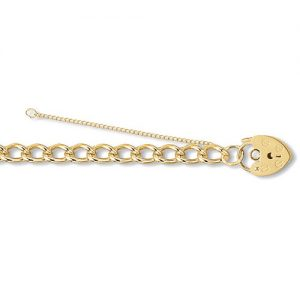 2.Charm Padlock,padlock gold safety lock,lock,clasp,Gold bracelet,Pow bracelet,pow,18k,14k,9k,18ct,14ct,9ct,gold,guld,oro,topjewelleryuk,topjewellery,jewellery,bracelet,