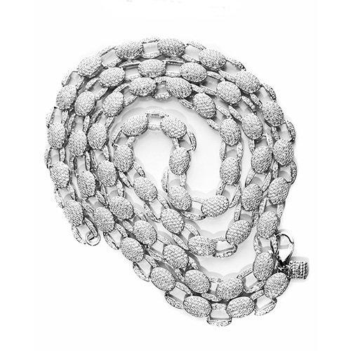 24.Silver CZ chain,925,cubiczirconia stones,zirconiastones,stones,zircoina,chian with diamond stones,chian with stones,topjewelleryuk,topjewellery,top,jewellery,uk,birmingham