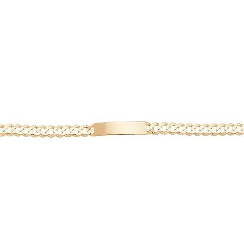 3.1.Curb,ID-Bracelet,Mens ID-Bracelet,Yellow gold,Patterned Bangle,Bangle bracelet,9k,14k,18k,750,585,375,gold,guld,topjwelleryuk,top jewellery,birmingham,uk