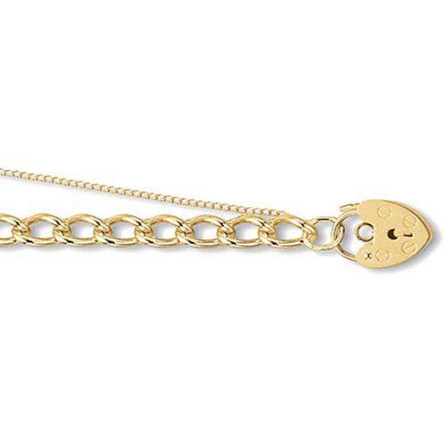 9k Ladies Chram Bracelet 6 mm - 108