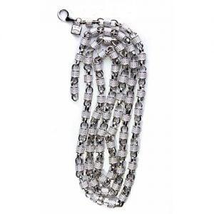 30.1.Silver CZ chain,925,cubiczirconia stones,zirconiastones,stones,zircoina,chian with diamond stones,chian with stones,topjewelleryuk,topjewellery,top,jewellery,uk,birmingham