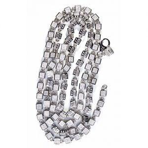 32.0.Silver CZ chain,925,cubiczirconia stones,zirconiastones,stones,zircoina,chian with diamond stones,chian with stones,topjewelleryuk,topjewellery,top,jewellery,uk,birmingham