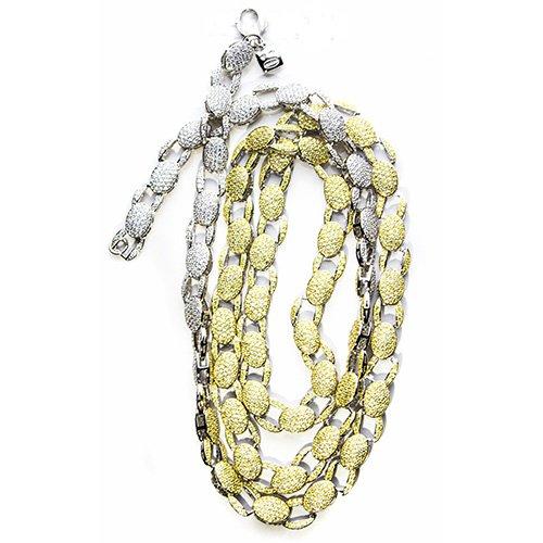 33.Two Color,Silver CZ chain,925,cubiczirconia stones,zirconiastones,stones,zircoina,chian with diamond stones,chian with stones,topjewelleryuk,topjewellery,top,jewellery,uk,birmingham