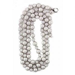 7.Silver CZ chain,925,cubiczirconia stones,zirconiastones,stones,zircoina,chian with diamond stones,chian with stones,topjewelleryuk,topjewellery,top,jewellery,uk,birmingham