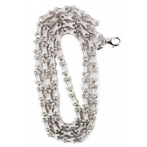 8.Silver CZ chain,925,cubiczirconia stones,zirconiastones,stones,zircoina,chian with diamond stones,chian with stones,topjewelleryuk,topjewellery,top,jewellery,uk,birmingham