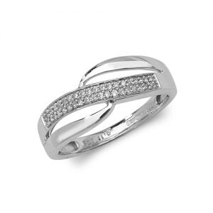 9ct 0.10ct Darie Cross Over Diamond White Gold Ring,white gold,Diamond Cross Over,Cross Over,Gold,Diamond,18ct,9ct,14ct,topjewellery,topjewelleryuk,birmingham