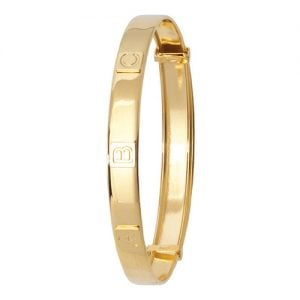 ABC Patterned Bangle,Bangle bracelet,9k,14k,18k,750,585,375,gold,guld,topjwelleryuk,top jewellery,birmingham,uk