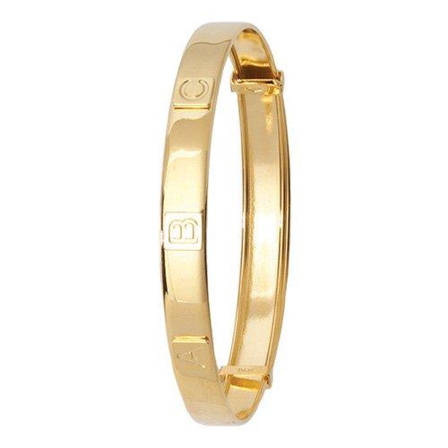 ABC Patterned Bangle,Bangle bracelet,9k,14k,18k,750,585,375,gold,guld,topjwelleryuk,top jewellery,birmingham,uk