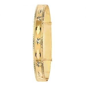 Patterned,bangle.9ct.Bangle,bracelet,top jewellery,topjwelleryuk,birmingham,topjewellerybirmingham,4mm
