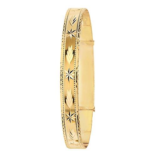 Patterned,bangle.9ct.Bangle,bracelet,top jewellery,topjwelleryuk,birmingham,topjewellerybirmingham,4mm