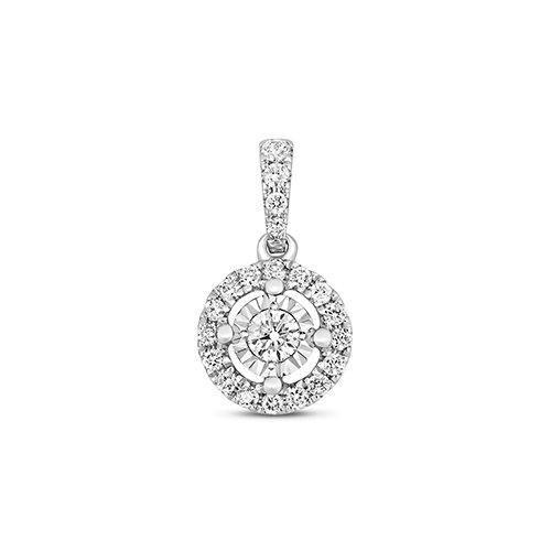 Halo 9ct diamond pendant,Diamond Pendant,9ct,14ct,375,750,585,Bezel set pendant,topjewelleryuk,birmingham