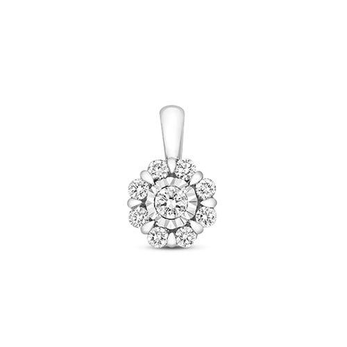 Halo Cluster 9ct diamond pendant,Diamond Pendant,9ct,14ct,375,750,585,Bezel set pendant,topjewelleryuk,birmingham