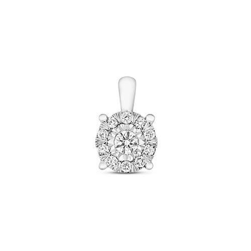 Halo Cluster 9ct diamond pendant,Halo Diamond Pendant,9ct,14ct,375,750,585,Bezel set pendant,topjewelleryuk,birmingham