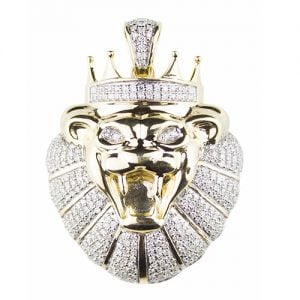 Lion Pendant gold diamonds,Lion,pounds,Lion pendant,diamonds,jewellery,topjewellery,diamond pendant,gold,9k,14k,18k,9ct,14ct,18ct,gold,guld,topjewelleryuk,topjwellery