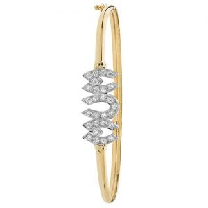 Mum Cz Bangle,Bangle bracelet,9k,14k,18k,750,585,375,gold,guld,topjwelleryuk,top jewellery,birmingham,uk