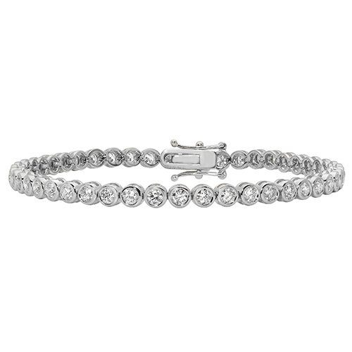 Tennis Bracelet 3.30,White Bezel tennis Bracelet,White gold Diamonds Tennis Bracelet,Gold,white gold hingde diamond bangle,9k,18k,14k,585,750,375,9ct,14ct,18ct,topjewellery,topjewelleryuk,goldonline.com,goldonli