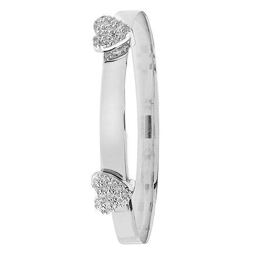 White gold,Patterned Bangle,Bangle bracelet,9k,14k,18k,750,585,375,gold,guld,topjwelleryuk,top jewellery,birmingham,uk