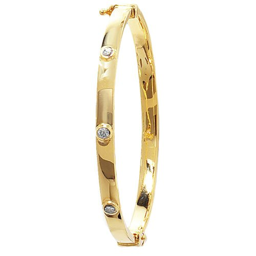 4 mm Cz Hinged Twisted Bangle,Bangle bracelet,9k,14k,18k,750,585,375,gold,guld,topjwelleryuk,top jewellery,birmingham,uk