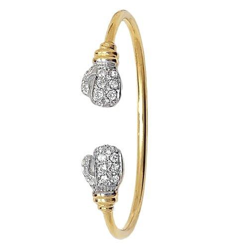 Boxning Torg 5 mm Cz Hinged Twisted Bangle,Bangle bracelet,9k,14k,18k,750,585,375,gold,guld,topjwelleryuk,top jewellery,birmingham,uk,white gold