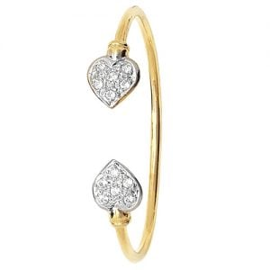 Heart Torc, Torc Plain Bangle,Bangle bracelet,9k,14k,18k,750,585,375,gold,guld,topjwelleryuk,top jewellery,birmingham,uk