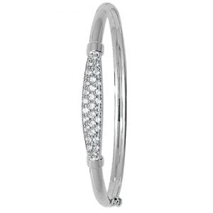5 mm Cz Hinged Twisted Bangle,Bangle bracelet,9k,14k,18k,750,585,375,gold,guld,topjwelleryuk,top jewellery,birmingham,uk,white gold