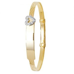 Heart Bangle,Patterned Bangle,Bangle bracelet,9k,14k,18k,750,585,375,gold,guld,topjwelleryuk,top jewellery,birmingham,uk