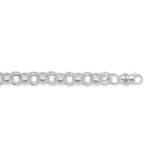 Blecher Necklece,Belcher Chain 11 mm Silver ,925,9ct,18ct,14ct,topjewellery,top,jewellery,topjewelleryukBirmingham,Jewellery Quarter