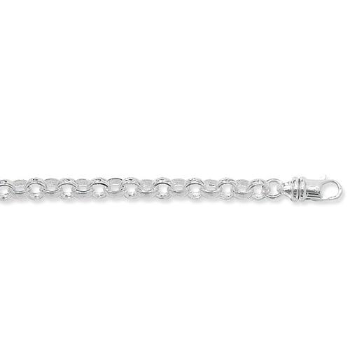 Blecher Necklece,Belcher Chain 7 mm Silver ,925,9ct,18ct,14ct,topjewellery,top,jewellery,topjewelleryukBirmingham,Jewellery Quarter