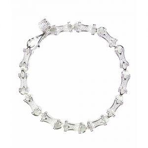 Bone Link silver bracelet, topjewelleryuk,top jewellery,sivler bracelet 925, birmingham.1