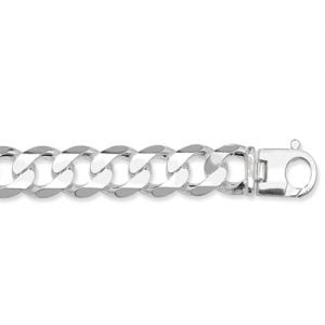 Curb Necklece,Curb Chain 17 mm Silver ,925,9ct,18ct,14ct,topjewellery,top,jewellery,topjewelleryukBirmingham,Jewellery Quarter