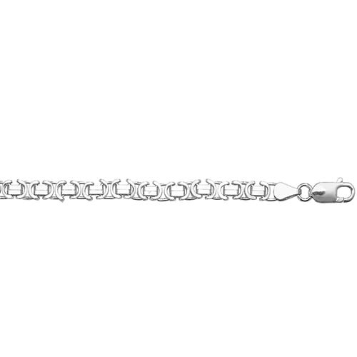 Flat Byzantine Necklece,Kings Chain 5 mm Silver ,925,9ct,18ct,14ct,topjewellery,top,jewellery,topjewelleryukBirmingham,Jewellery Quarter