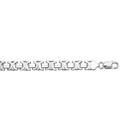 Flat Byzantine Necklece,Kings Chain 8 mm Silver ,925,9ct,18ct,14ct,topjewellery,top,jewellery,topjewelleryukBirmingham,Jewellery Quarter