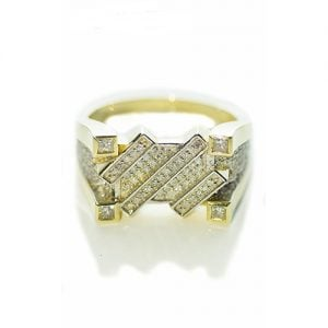 FortressDiamond ring,signet diamond ring,diamon mens ring,mens ring,gold,9ct,9k,18k,18ct,375,750,gents diamond ring.2